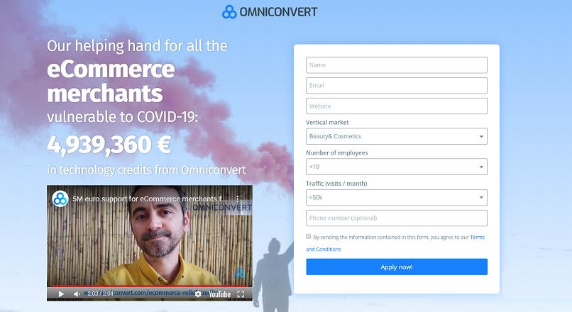 Omniconvert sustine IMM-urile online cu 5 milioane €, in credite tehnologice [VIDEO]