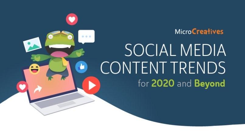 7 tendinte legate de continutul social media, pentru 2020 (infografic)