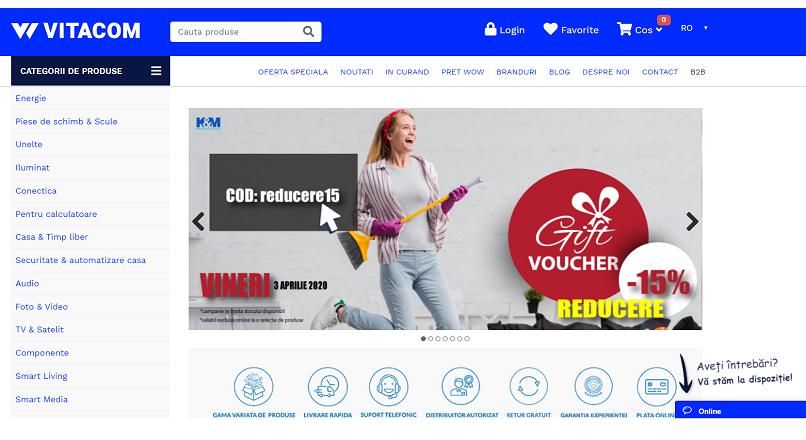 Vitacom.ro: crestere de 10% a vanzarilor online, pe fondul COVID-19