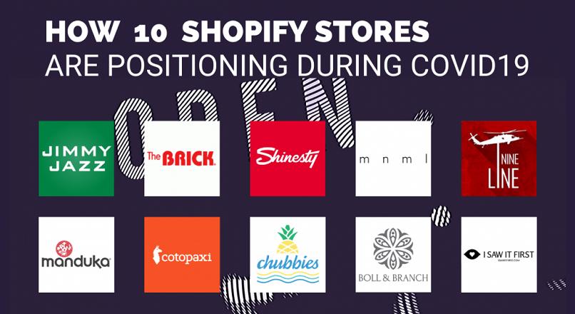 Cum se pozitioneaza 10 magazine Shopify, in timpul COVID-19