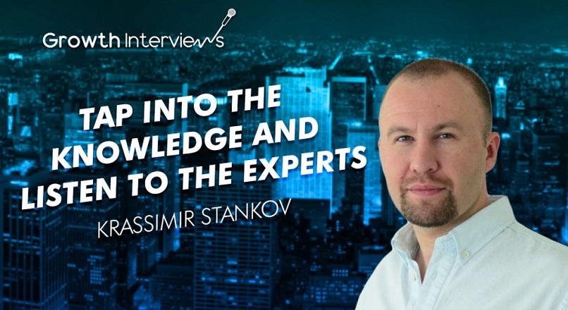Krassimir Stankov: Acceseaza cunostintele si asculta expertii