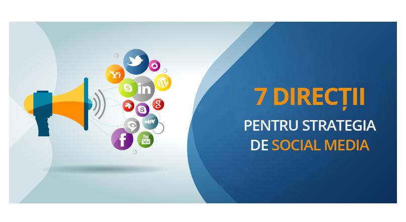 7 directii pentru strategia de social media, in 2020