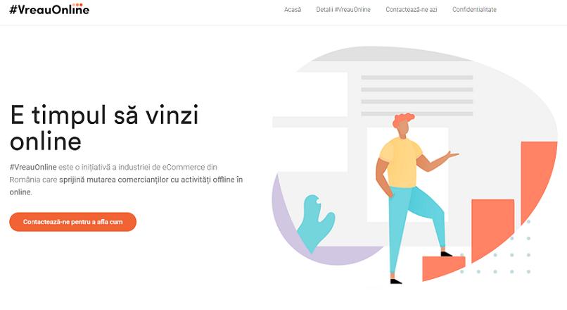 COVID-19, Romania: 17 companii sprijina tranzitia magazinelor fizice spre online, cu programul #VreauOnline
