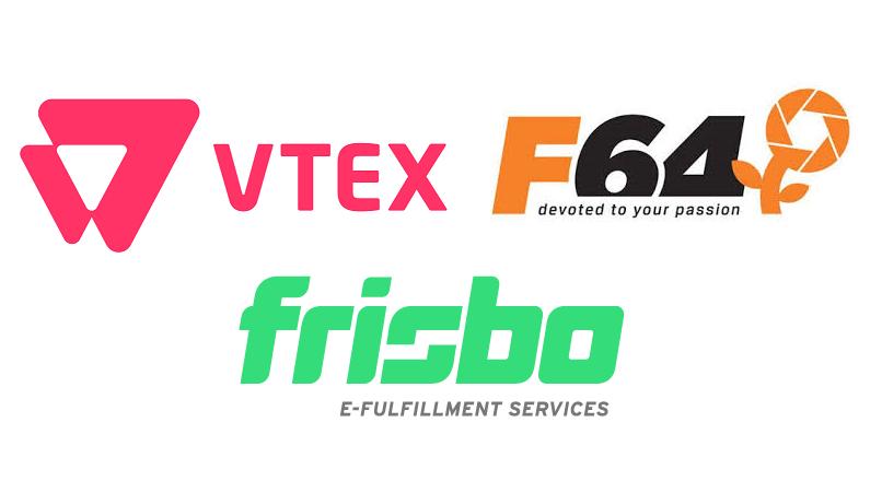 VTEX, F64 si Frisbo – parteneriat pentru implementarea de solutii e-commerce complete