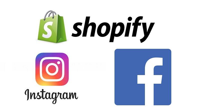 Shopify, Facebook si Instagam au lansat app-ul Shop, respectiv sectiunea Shops