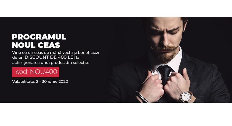 WatchShop.ro continua programul Noul Ceas, cu o editie premium