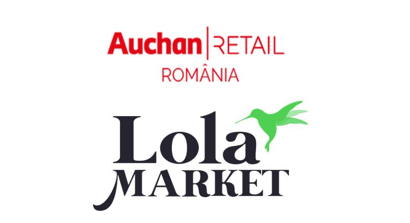 Bucuresti: Auchan livreaza comenzi online intr-o ora, prin aplicatia Lola Market