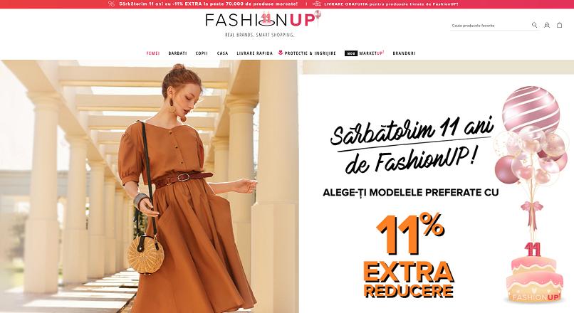 11 ani de FashionUP.ro, in cifre