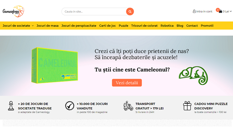 COVID-19: Gameology.ro, vanzari online de 6 ori mai mari, in martie-mai 2020