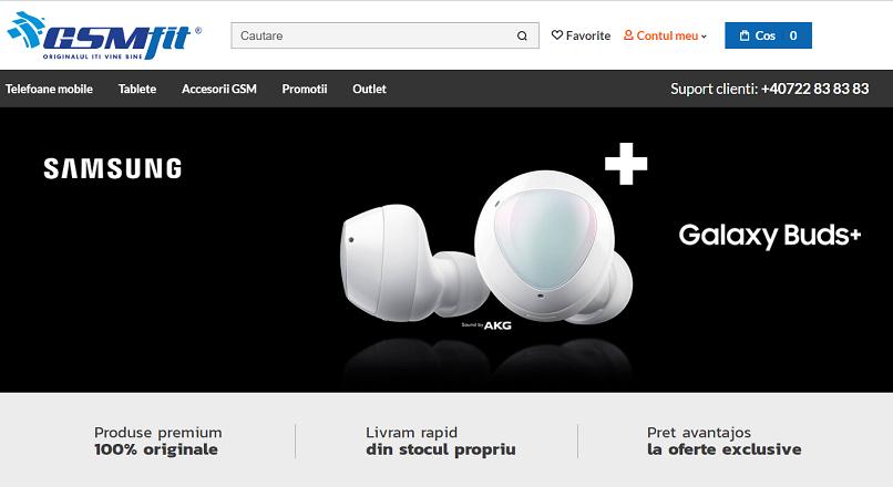 Magazinul online GSMfit.ro s-a relansat cu ajutorul Zitec