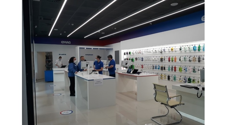 eMAG a deschis primul showroom in afara Romaniei, la Budapesta