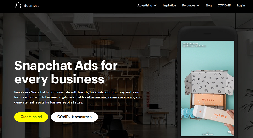 Snapchat a lansat ad-uri dinamice pentru retailerii online