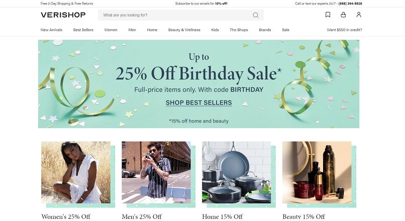 Verishop.com vrea sa devina cel mai mare shopping mall online din Vest