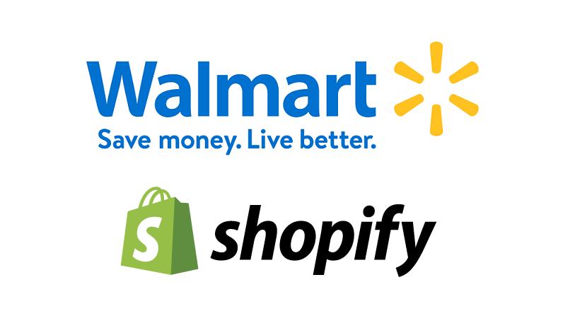 Walmart + Shopify, parteneriat pentru extinderea marketplace-ului online