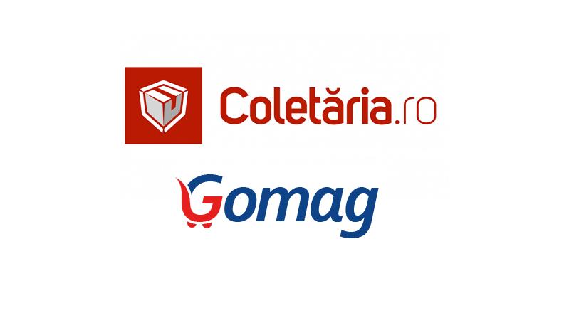 Parteneriat Coletaria.ro + Gomag.ro, pentru livrari online nationale si internationale