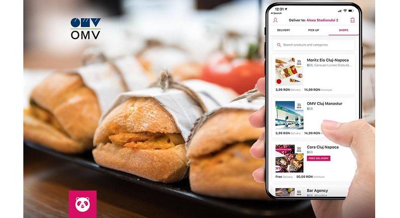 OMV Petrom si foodpanda.ro, parteneriat de livrare online a produselor Viva