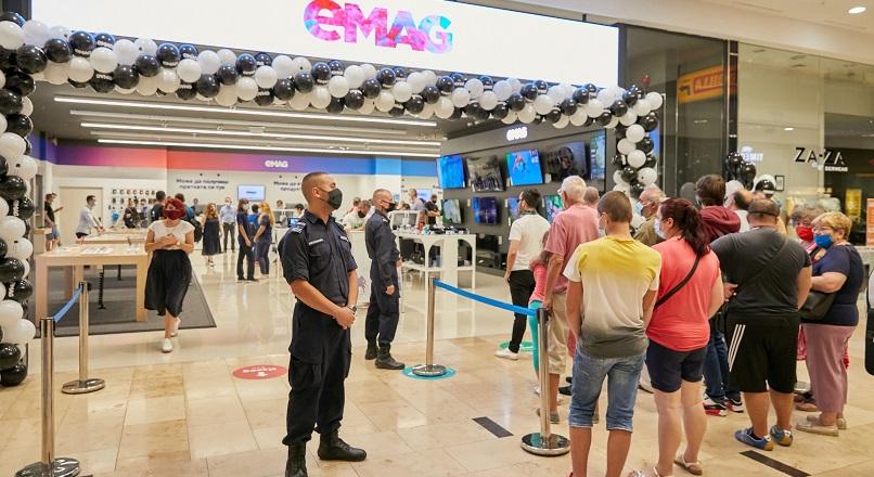 eMAG.ro a deschis primul showroom in Bulgaria