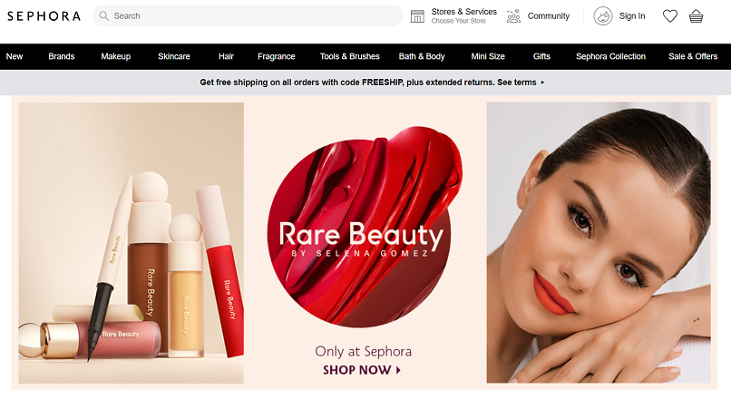 Investitiile Sephora in e-commerce au dat roade: 80% vanzari online, in pandemie