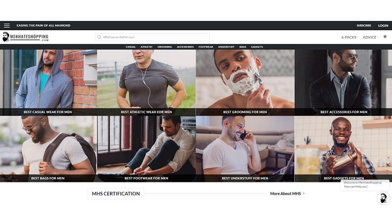 A aparut site-ul care vrea sa faca barbatii sa iubeasca shopping-ul online