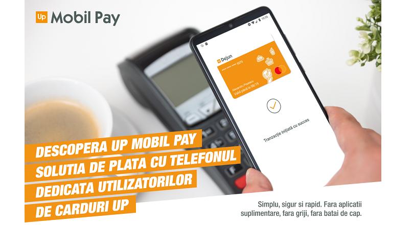 S-a lansat Up Mobil Pay (solutie de plata contactless, cu telefonul)