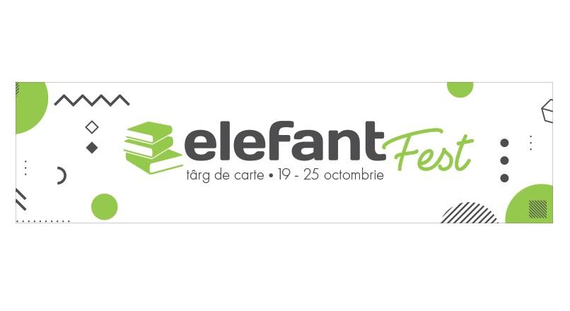 Targul de carte elefantFest ajunge la a doua editie (19-25 octombrie 2020)