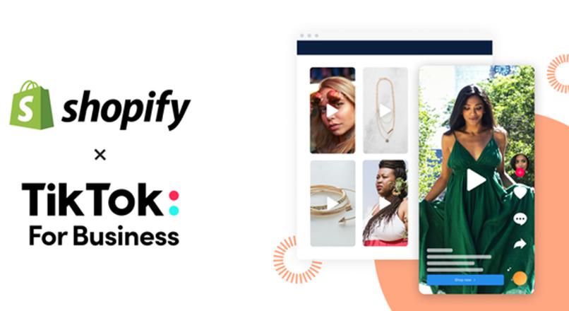 TikTok investeste in comertul social si bate palma cu Shopify