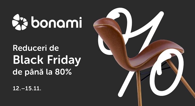 12-15 si 26-29 noiembrie 2020: Black Friday la Bonami.ro, cu reduceri de pana la 80%