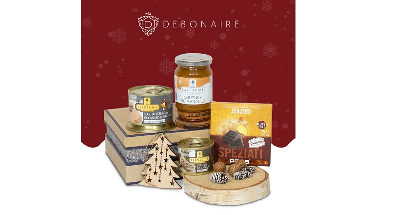 Debonaire.ro: in 2020, cu 25% mai multi clienti ofera cosuri cadou de Craciun