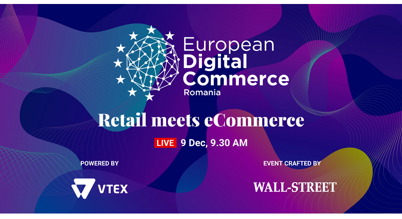 European Digital Commerce: inscrie-te gratuit, pentru a afla ultimele trend-uri din comertul online