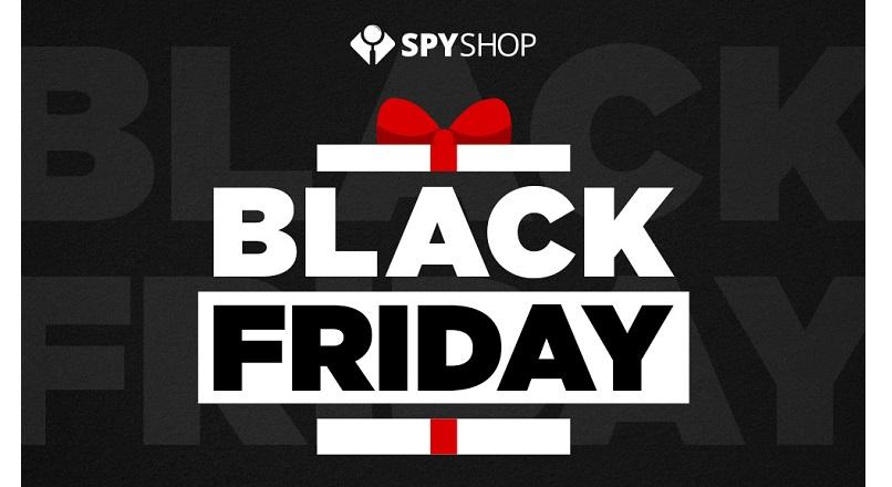 13-15 noiembrie 2020: Black Friday la Spy-Shop.ro, cu reduceri de pana la 80%