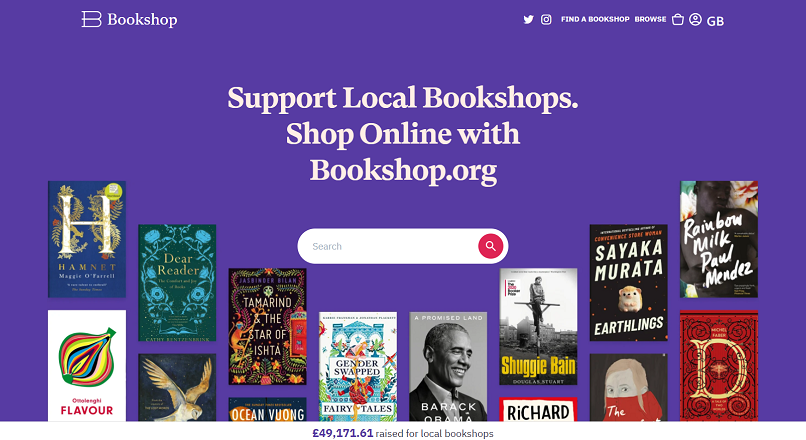 Libraria indie Bookshop.org propune o alternativa la Amazon