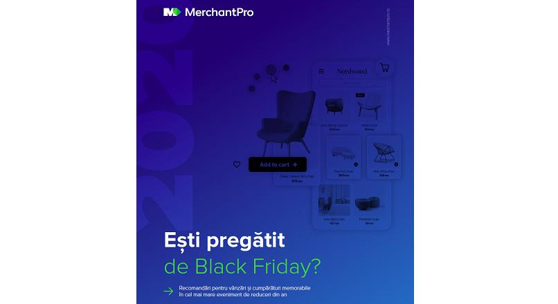 MerchantPro a lansat un eBook de bune practici, pentru Black Friday