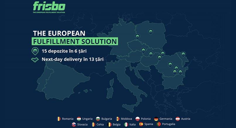 Platforma romaneasca de e-fulfillment Frisbo si-a extins operatiunile in 5 tari