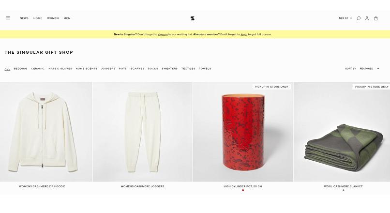 H&M a lansat un brand sustenabil, pe baza de abonament (Singular Society)