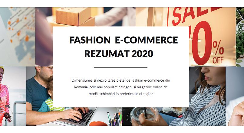 Romania: piata modei online va depasi 5 miliarde de lei, in 2021 (studiu)