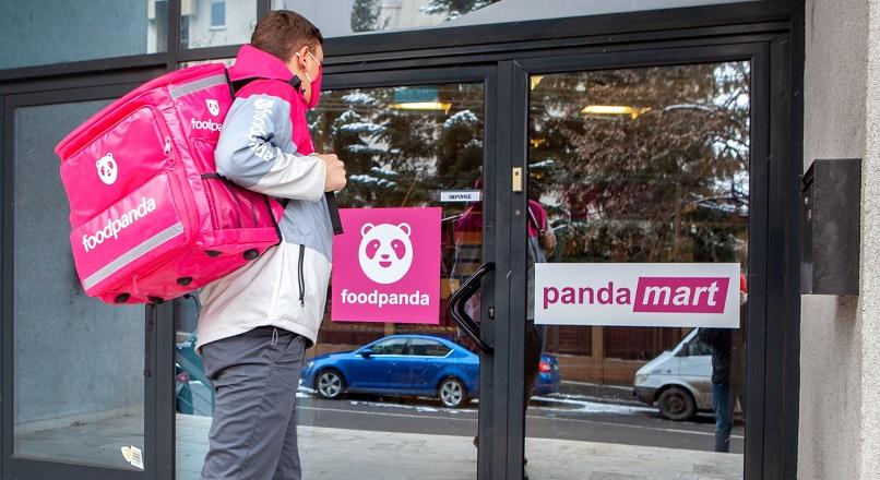 S-au lansat magazinele pentru cumparaturi rapide pandamart (foodpanda.ro)