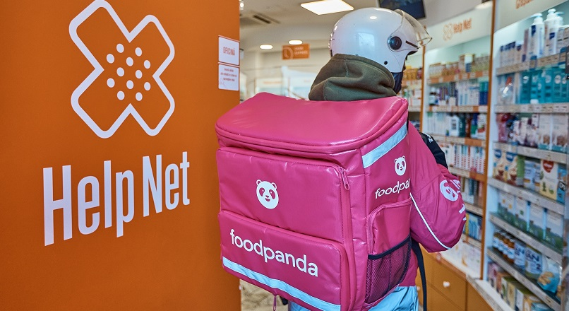 Platforma online foodpanda va livra produse de la farmaciile Help Net