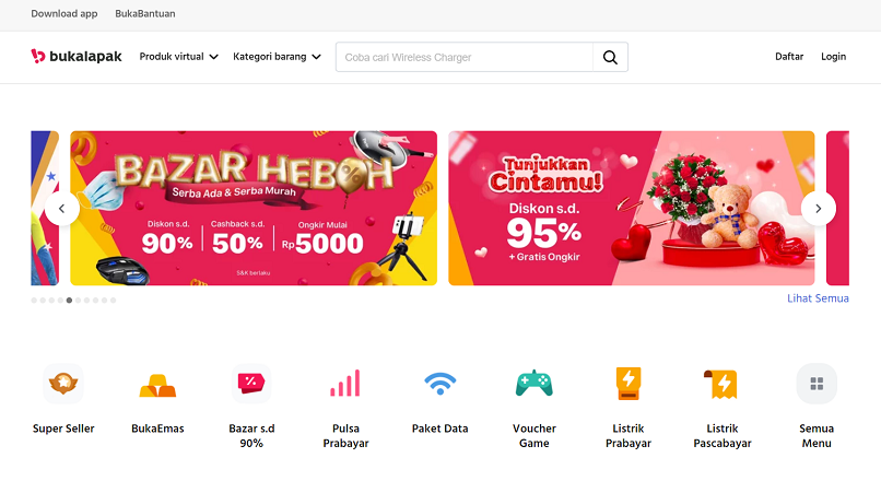 Indonezia: start-up-ul online Bukalapak face miliarde monetizand tarabele stradale