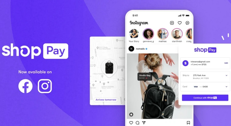 SUA: optiunea de plata Shopify, integrata in Facebook si Instagram