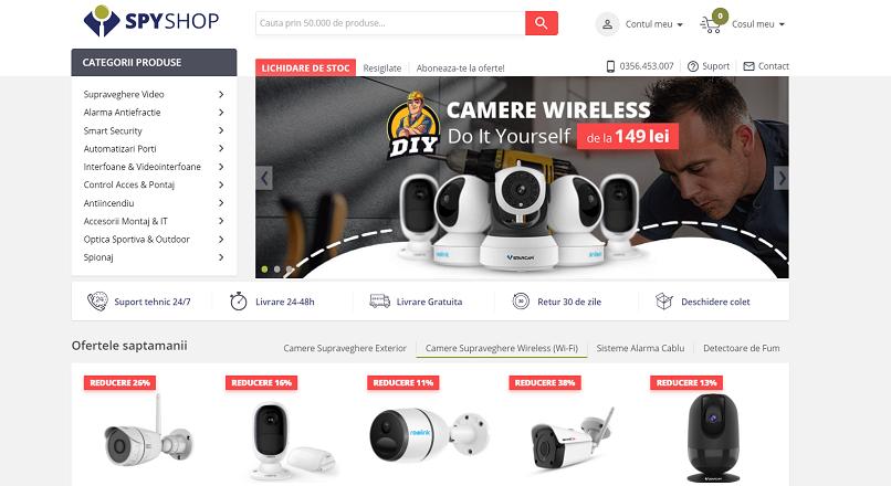 Spy-Shop.ro: cifra de afaceri mai mare cu 60% YoY, in 2020 (10 milioane €)