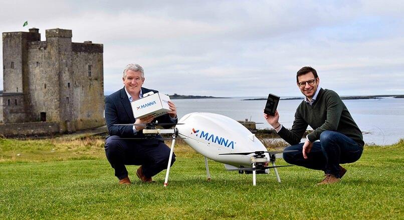 Irlanda: Samsung va livra cu drona telefoane si ceasuri smart cumparate online