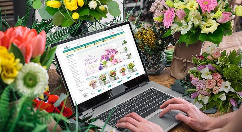 Floria.ro: 25% dintre romani au comandat flori fara un motiv anume, in pandemie