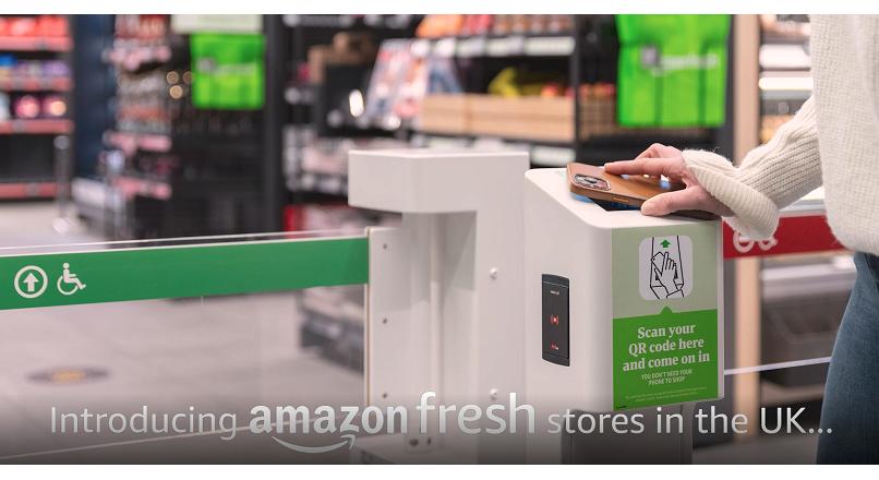 Londra: s-a deschis primul Amazon Fresh fara casierii, din afara SUA