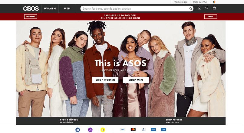 Asos.com: profit de +253% YoY, gratie vanzarilor online din pandemie