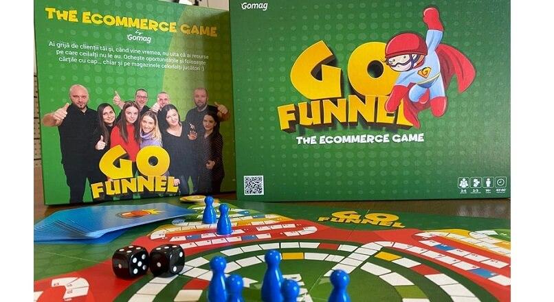 Lansarea GoFunnel: Gomag a creat primul board game pentru eCommerce, din Romania