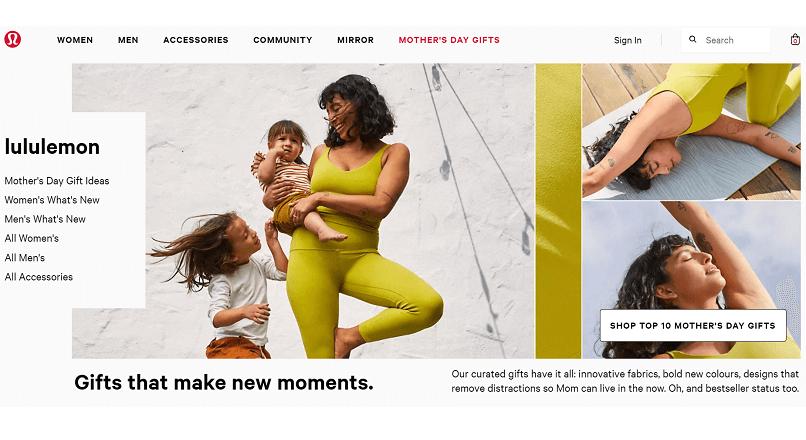 Piata online de produse second-hand creste, via Lululemon si Nike