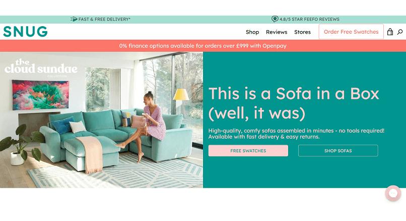 CEO-ul SnugSofa.com, despre CX-ul achizitiei unei canapele online