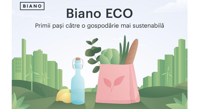 Biano.ro lanseaza o sectiune ECO, dedicata produselor sustenabile