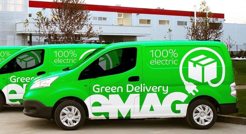 """eMAG a atins un nivel """"net 0"""" al emisiilor de dioxid de carbon"""