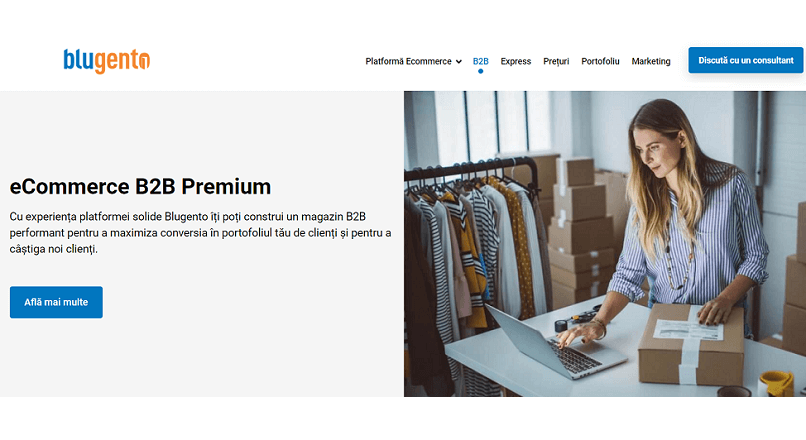 Blugento si-a lansat propria platforma e-commerce B2B